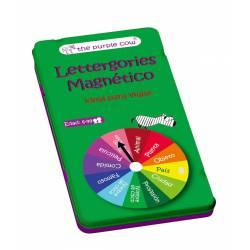 Lettergories, magnetic.