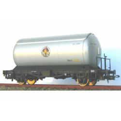 Cisterna para gases licuados. Plata. KTRAIN 0708F