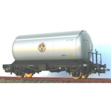 Cisterna para gases licuados. Plata. KTRAIN 0708H