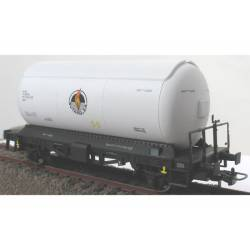 Conjunto 3 cisternas para gases licuados. Blanca. KTRAIN 0758C