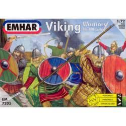 Guerreros vikingos, siglos IX-X.
