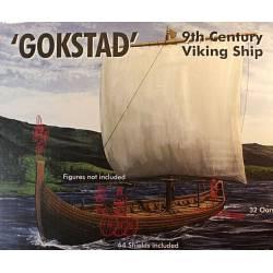 Gokstad, barco vikingo del siglo IX.