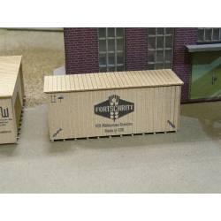 Cajas de madera, medianas.