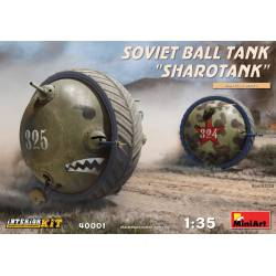 """Soviet ball tank """"Sharotank""""."""