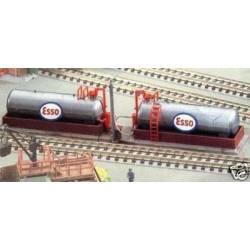Dos depósitos de combustible. KIBRI 37430