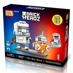 Brick Headz: Stormtroopers anf Bb8.