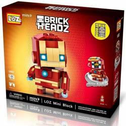 Brick Headz: Spiderman.