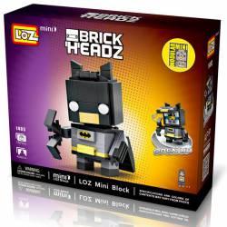 Brick Headz: Iron Man.