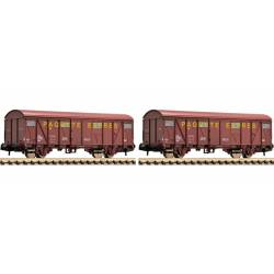 "Set de vagones ""Paquete Express"", RENFE."