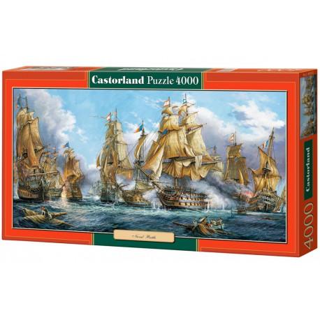 Batalla naval, 4000 piezas.