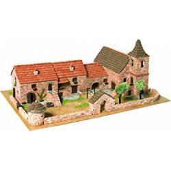 Diorama: Casas adosadas.