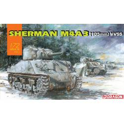 Sherman M4A3 (105 mm) VVSS.