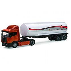 Scania R124/400 con cisterna de combustible.