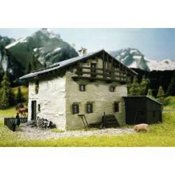 Casa alpina.