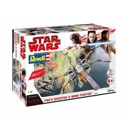 Star Wars: Poe´s boosted X-Wing fighter. REVELL 06763