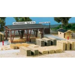 Lumber yard Span & Co.