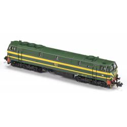 Locomotora 333-046, RENFE. Sonido.
