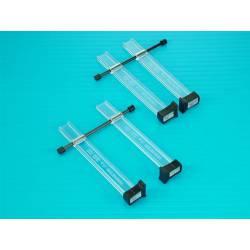 Dos pinzas Berna de 80 mm. MODELCRAFT PCL8710/2