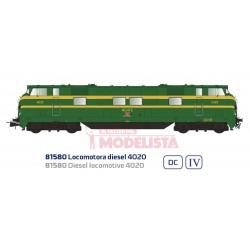 Locomotora diésel 4020, RENFE.