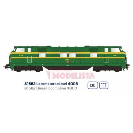 Locomotora diésel 4008, RENFE.
