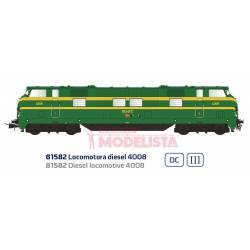 Locomotora diésel 4008, RENFE. Sonido.
