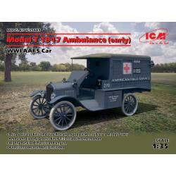 Ambulancia Ford T 1917.