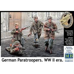 Paracaidistas alemanes.