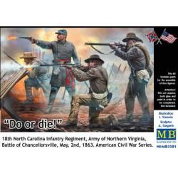 Regimiento de infantería, Carolina del Norte.