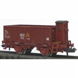 Vagón X2 rojo óxido, RENFE.