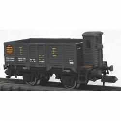 Vagón X2 gris CR, RENFE.