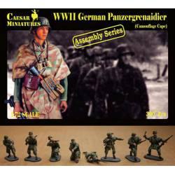 Granaderos Panzer alemanes.