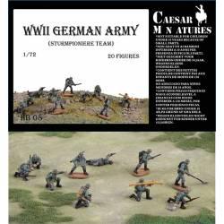 Zapadores de asalto alemanes.