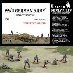 Equipo de combate alemán.