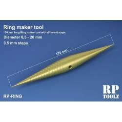Herramienta para formar aros (0,5 - 20 mm).