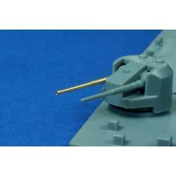 Naval gun: King George V, Dido, Vanguard.