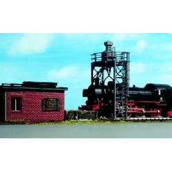 Steam loco sand facility.