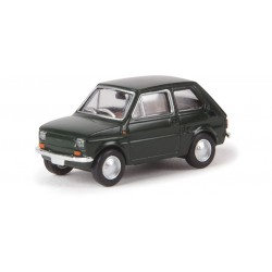 Fiat 126, verde.