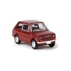 Fiat 126, rojo óxido.