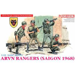 ARVN Rangers (Saigón 1968). Vietnam.