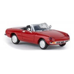 Alfa Romeo Spider 2000, rojo.
