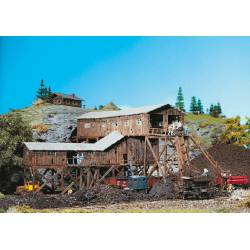 Antigua mina de carbón.