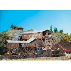 Old coal mine.