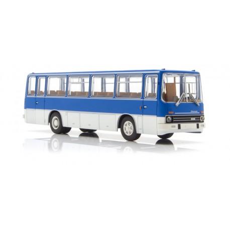 Autobus Ikarus 255, azul.