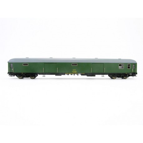 Set de 2 furgones DD-8100, RENFE. Verde.