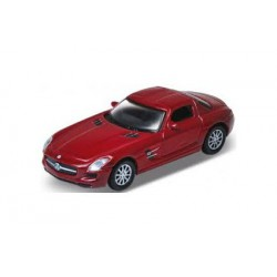 Mercedes SL AMG. Drak red.