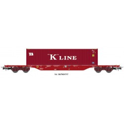 "Wagon type Sgnss ""K LINE"", Takargo."