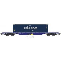 "Wagon type Sgnss ""CMA CGM"", Continental Rail."