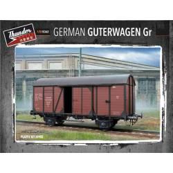 Vagón de mercancías alemán Gr 10T.