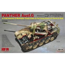 Panther Ausf. G Sd.Kfz. 171. Interior.