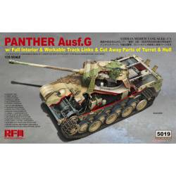 Panther Ausf. G Sd.Kfz. 171. Interiores.